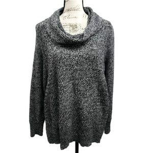 Croft & Barrow Plus Size Cowl Neck Sweater 1X